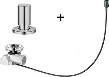 Набор доукомплектации BLANCO с круглой ручкой нерж. сталь матовая полировка набор доукомплектации 519377 blanco