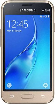 Мобильный телефон Samsung Galaxy J1 mini prime золотистый смартфон samsung galaxy j1 mini prime 2016 sm j106f ds 8gb gold