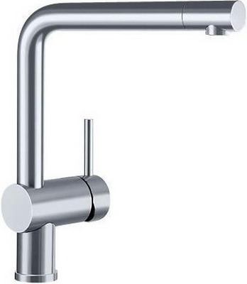 Кухонный смеситель BLANCO LINUS-F поверхность нержавеющая сталь цены