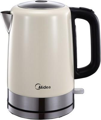 Чайник электрический Midea MK-8055 чайник midea mk m317c2a rd 2200 вт 1 7 л нержавеющая сталь красный