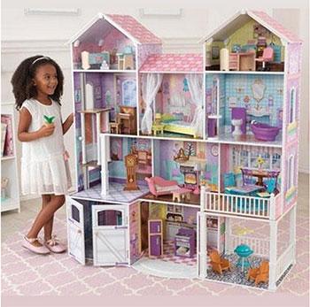 Дом для кукол KidKraft 65242_KE Загородная усадьба kidkraft кукольный стульчик для кормления куклы kidkraft