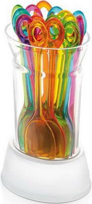 Party ложки с держателем Tescoma PRESTO 15 шт 420987 петля универсальная tescoma presto цвет красный желтый зеленый 12 шт