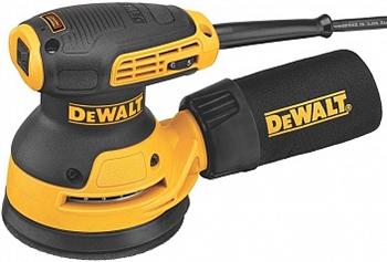 Эксцентриковая шлифовальная машина DeWalt DWE 6423 мультитул реноватор dewalt dwe 315 kt