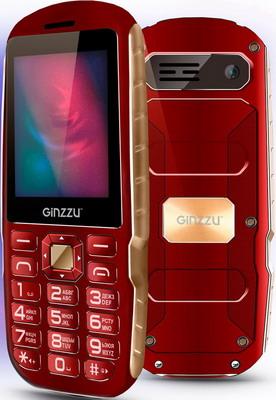 Мобильный телефон Ginzzu R1D красный мобильный телефон ginzzu r1d золотистый