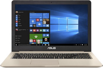 Ноутбук ASUS N 580 VD-DM 194 T (90 NB0FL1-M 04940) золотистый ноутбук asus fx 553 vd dm 1137 90 nb0dw4 m 19850