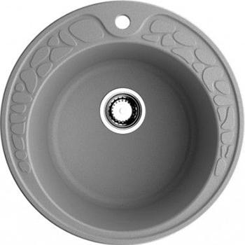 Кухонная мойка OMOIKIRI Tovada 51-GR Artgranit/leningrad grey (4993367) смеситель для кухни omoikiri yamada gr leningrad grey 4994261