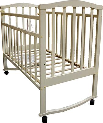 Детская кроватка Агат Золушка-1 Слоновая кость обычная кроватка агат 52101 золушка 1 орех