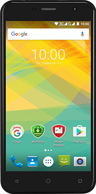 Мобильный телефон Prestigio Muze B7 Dual SIM Black prestigio muze b7 5 01280 720ips display dual sim android 6 0 1 3ghz quad core 2gb ddr 16gb flash 2 0mp front 13 0mp rear camera with flash light 2300mah battery black[psp7511duoblack]
