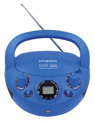Магнитола Hyundai H-PCD 220 синий 新编实用英语听力教程1(第2版)(附mp3光盘1张)