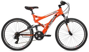Велосипед Stinger 26 SFV.VERSU.18 OR7 26'' Versus 18'' оранжевый велосипед challenger desperado fs 26 d сине оранжевый 18