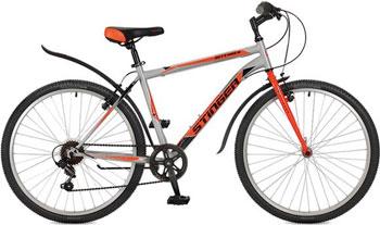 Велосипед Stinger 26'' Defender 16'' серый 26 SHV.DEFEND.16 GR7 велосипед stinger valencia 2017