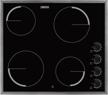 Встраиваемая электрическая варочная панель Zanussi ZEV 56140 XB варочная панель электрическая zanussi zev 6340 xba черный