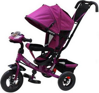Велосипед Sweet Baby Mega Lexus Trike Violet (8/10 Air Music bar) велосипед для малыша liko baby lexus lb 778 red