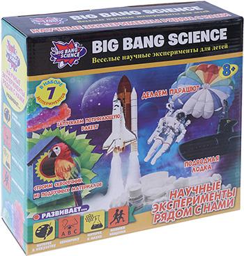 Набор Big Bang Science Научные эксперименты рядом с нами 1CSC 20003298 big bang science набор для опытов big bang science мини эксперимент магия науки