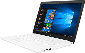 Ноутбук HP 15-da 0189 ur (4MW 88 EA) i3-7020 U Snow White цена
