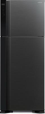 Двухкамерный холодильник Hitachi R-V 542 PU7 BBK чёрный бриллиант