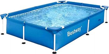 Бассейн BestWay 221х150х43 1200 л 56401 BW каркасный бассейн bestway 15327 bw 305х100 см 6148 л уп 1