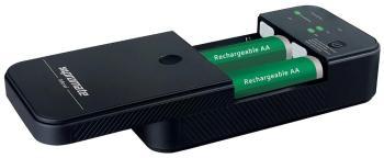 Зарядное устройство портативное универсальное Promate Moxi чёрный крышка батареи для xbox360 батареи оболочки