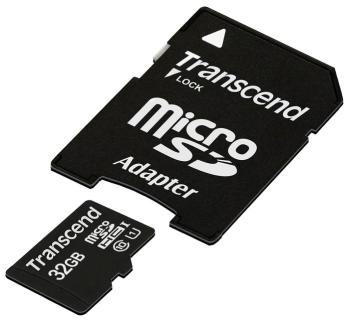 Карта памяти Transcend micro SDHC 32 Gb TS 32 GUSDU1 + adapter карта памяти micro sdhc sony sr8uy3at