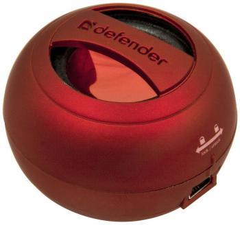 Портативная акустика Defender Soundway red 65559