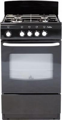 Газовая плита DeLuxe 5040.38  (щиток) черный