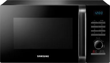 Микроволновая печь - СВЧ Samsung MS 23 H 3115 FK (MS 23 H 3115 FK/BW) микроволновая печь samsung me83krw 2 bw 800 вт белый