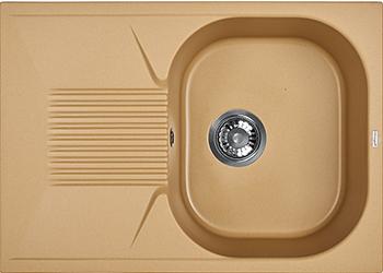 Кухонная мойка Weissgauff CLASSIC 695 Eco Granit шампань  weissgauff classic 695 eco granit чёрный