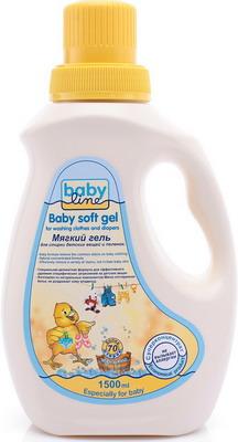 Средство для стирки детское Babyline детских вещей и пеленок 1 5л. детские моющие средства babyline кондиционер для стирки детских вещей 1 л