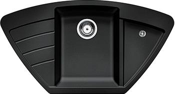 Кухонная мойка Zigmund amp Shtain ECKIG 900  темная скала кухонная мойка zigmund amp shtain eckig 800 черный базальт