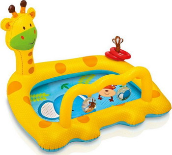 Надувной бассейн для купания Intex Жираф 57105 NP