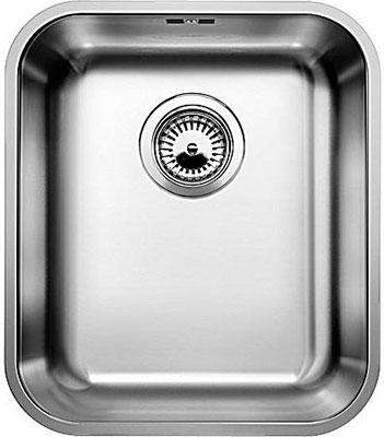Кухонная мойка BLANCO SUPRA 340-U нерж.сталь полированная c клапаном-автоматом кухонная мойка blanco andano 500 180 u нерж сталь полированная с клапаном автоматом правая