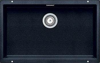 Кухонная мойка BLANCO SUBLINE 700-U SILGRANIT антрацит  blanco subline 320 u антрацит