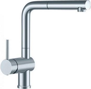 Кухонный смеситель BLANCO LINUS-S рычаг слева поверхность смеситель для кухни blanco linus s рычаг справа нержавеющая сталь