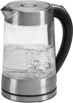Чайник электрический Bomann WK 5023 G CB inox электрический чайник clatronic wk 3501 g inox