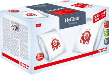 Набор пылесборников Miele XXL FJM HyClean 3D Efficiency (41996597 EU1) мешки miele hyclean 3d efficiency для пылесоса miele gn blue