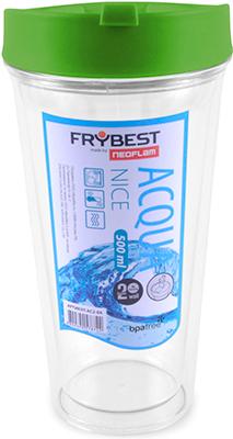 Стакан Frybest AC2-03 NICE 500 ml Зеленый frybest orange003 чеснокодавилка