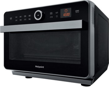 Микроволновая печь - СВЧ Hotpoint-Ariston MWHA 33343 B черный печь свч hotpoint ariston mwha 2011 mw1 соло 20л мех бел черн