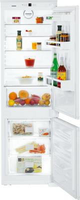 Встраиваемый двухкамерный холодильник Liebherr ICUNS 3324 встраиваемый двухкамерный холодильник liebherr icbs 3224