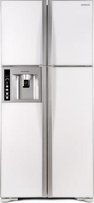 Холодильник Side by Side Hitachi R-W 662 PU3 GPW белое стекло все цены