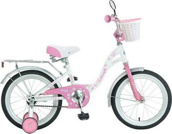 Велосипед Novatrack 16 BUTTERFLY бело-розовый велосипед novatrack a формула 16 2016 сине белый 167formula bl6