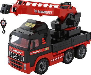 Автокран Полесье Mammoet Volvo 203-01 пламенный мотор машинка инерционная volvo пожарная охрана