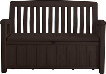 Скамья-сундук Keter Patio Bench коричневый 17202690 стол сундук circa storage rattan table 132l keter