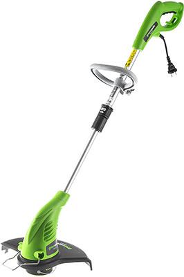 Триммер Greenworks 500 W GST 5033 21217 аккумуляторный триммер greenworks 82v gd82bc 2101707