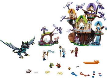 Конструктор Lego Elves: Нападение летучих мышей на Дерево эльфийских звёзд 41196 конструктор lego elves 41178 логово дракона