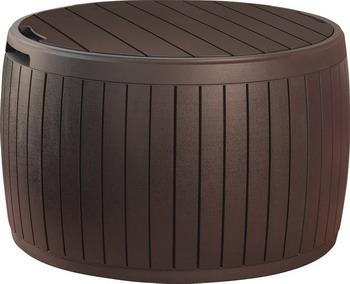 Сундук-столик Keter Circa Wood коричневый под дерево 17202369