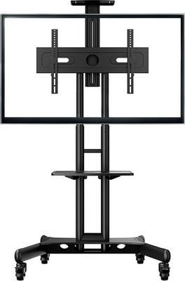 Мобильная стойка для презентаций ONKRON TS 1551 черная стойка для одежды artmoon sam мобильная цвет черный хром