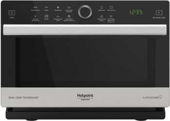 Микроволновая печь - СВЧ Hotpoint-Ariston MWHA 338 IX нерж.сталь печь свч hotpoint ariston mwha 2011 mw1 соло 20л мех бел черн