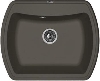 Кухонная мойка Florentina Нире-630 630х510 антрацит FSm искусственный камень мойка florentina нире 760 антрацит