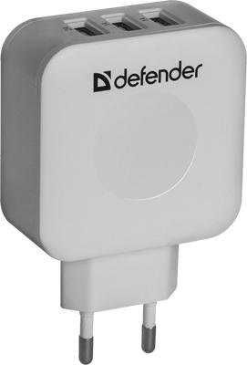 цена на Сетевой адаптер Defender UPA-30 3 порта USB 83535