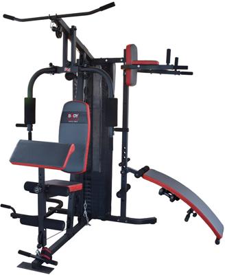 Тренажер многофункциональный BODY SCULPTURE BMG-4702 многофункциональный тренажер body solid exm1500s с весовым стеком 72 5 кг